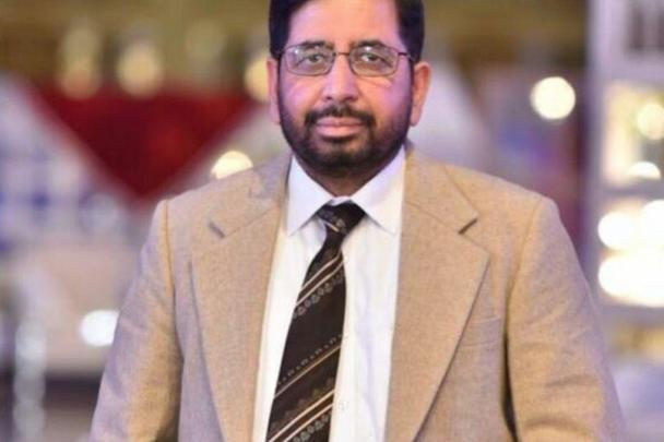 Dr. Syed Waqqar Ali died on Wednesday in the Mater Hospital.