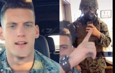 It's called a dress code! US Marine's plea for public to wear COVID-19 mask goes viral