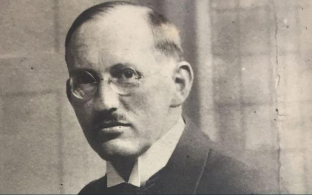 Ludwig Mühlhausen traveled to Ireland for six weeks in 1937.
