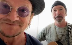 """WATCH: U2's Bono and The Edge perform acoustic snippet of """"Stairway to Heaven"""""""