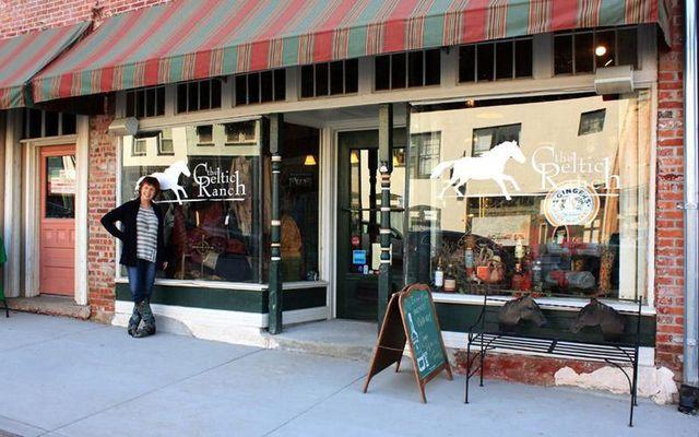 The Celtic Ranch Irish store, in Weston, MO