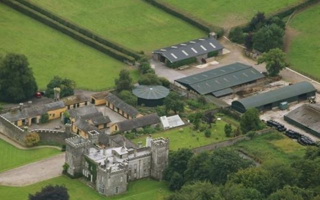 Tullamaine Castle is one of the finest stud farms in Ireland.