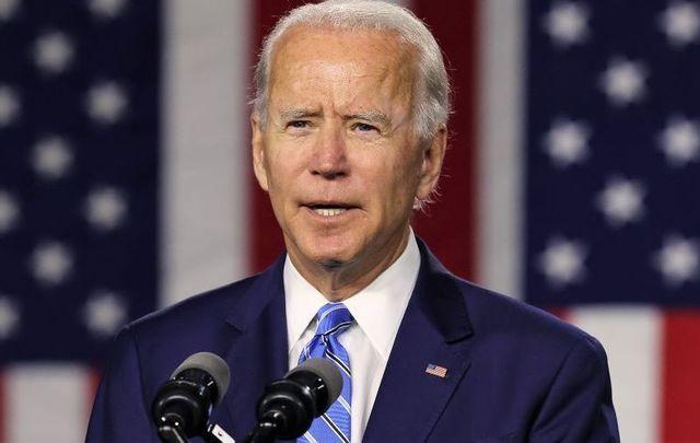 July 14, 2020: Joe Biden speaks at the Chase Center in Wilmington, Delaware.