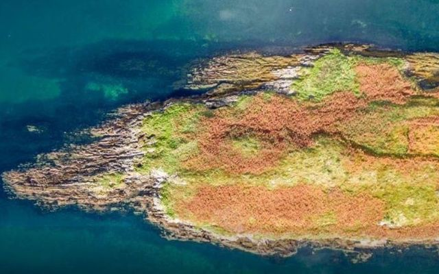 Mannions Island is just 200 meters off the coast of Cork.