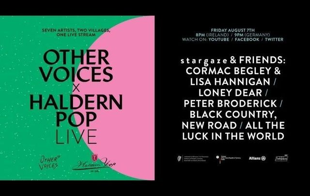 Other Voices x Haldern Pop Live will be live-streamed this Friday, August 7 - tune in here!