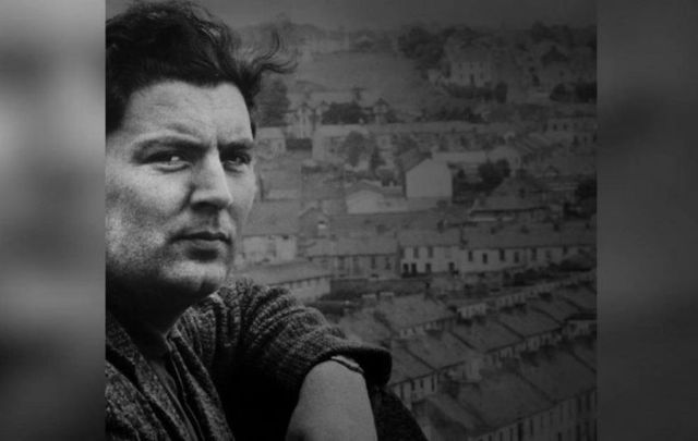 A still from Cathy Maguire\'s tribute video to the late John Hume.