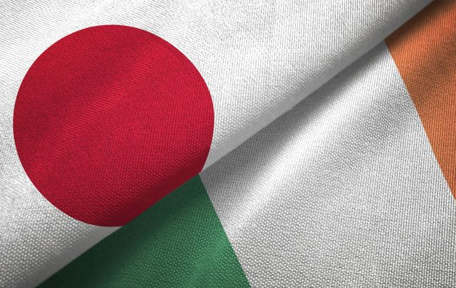 Artists in Japan and Ireland have teamed up to explore the links between the two nations.