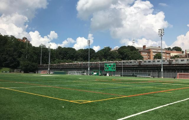 Gaelic Park, the home of the New York GAA in the Bronx.