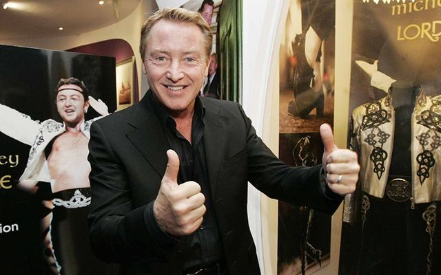 The Lord of the Dance, Michael Flatley.
