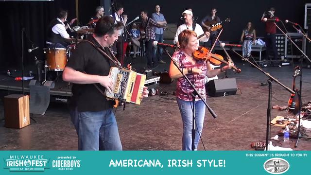 Milwaukee Irish Fest At Home: Ward Irish music archive show.