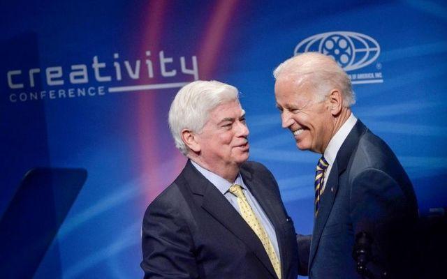 Chris Dodd and Joe Biden have been long-time friends.