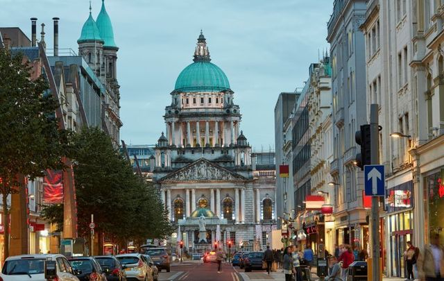 Belfast City Hall. Patricia Killeen examines Northern Ireland\'s music as she prepares for a visit.