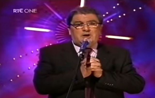 John Hume singing Danny Boy on the Late Late Show.