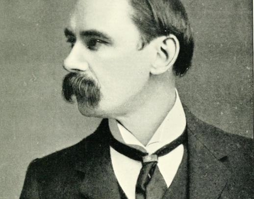Ireland\'s first president, Douglas Hyde.