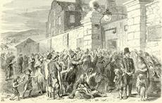 St. James's Hospital Dublin's history as a workhouse for destitute beggars