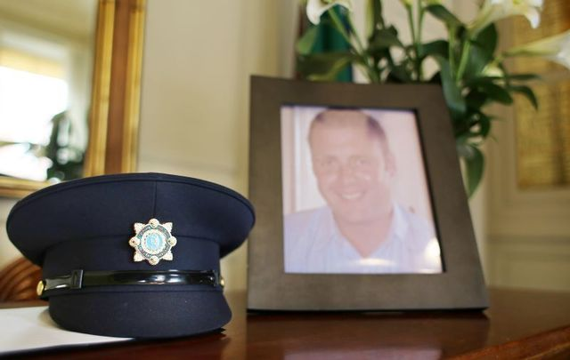 January 29, 2013: The book of condolences in Dublin\'s Mansion House for Detective Adrian Donohoe, who was shot dead during an armed robbery at Lordship Credit Union in Co. Louth on January 25.