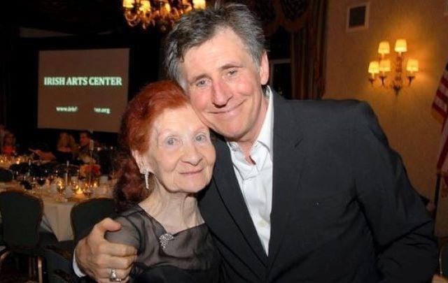 Josephine McNamara, pictured here with fellow Irish Arts Center patron Gabriel Byrne.