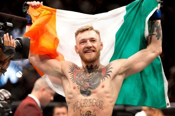 Irish former UFC fighter Conor McGregor.