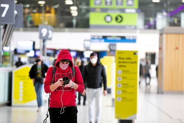 Dublin airport: Ireland has seen a drastic downturn in US visitors due to COVID-19.