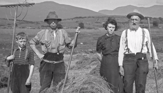 """A still from the Call to Arts trailer: \""""Their vision is a hauntingly beautiful view of Irish life.\"""""""