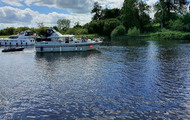 Boating on the River Shannon: There\'s nothing quite like it, especially during the COVD pandemic.