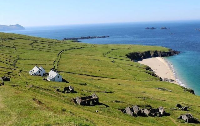 Great Blasket Island remained closed until June 29 due to the COVID-19 pandemic.