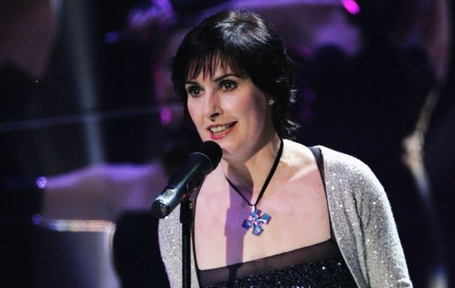 Irish singer Enya, pictured here at the 2006 World Music Awards at Earls Court on November 15, 2006, in London.