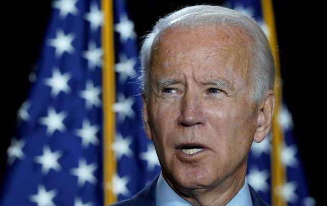 Former Vice President Joe Biden, pictured here on August 13, 2020.