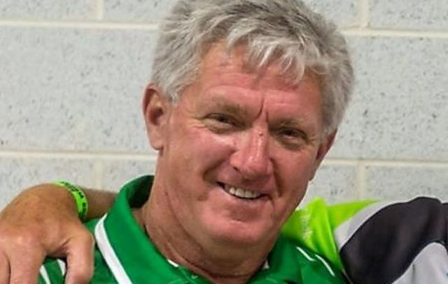 Noel O\'Connell, pictured here in 2017 at the Rockland GAA Clubhouse in New York.