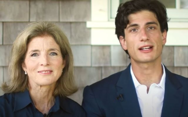 Caroline Kennedy and her son Jack Schlossberg filmed a video in support of Joe Biden for the 2020 Democratic National Convention.