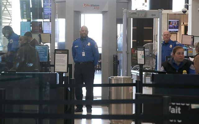 Airport security: A Scottish student returning to the US through Dublin was turned back due to five-year old images on his phone.