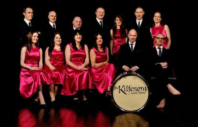 The Kilfenora Ceili Band.