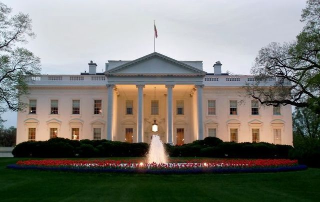 The White House in Washington, DC.