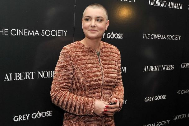 Sinead O\'Connor pictured here in 2011.