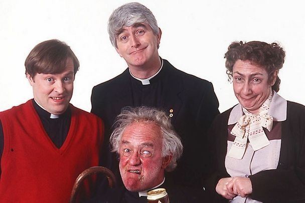 The Father Ted cast.