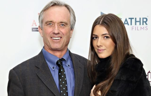 Robert F. Kennedy Jr. and his daughter Kathleen.
