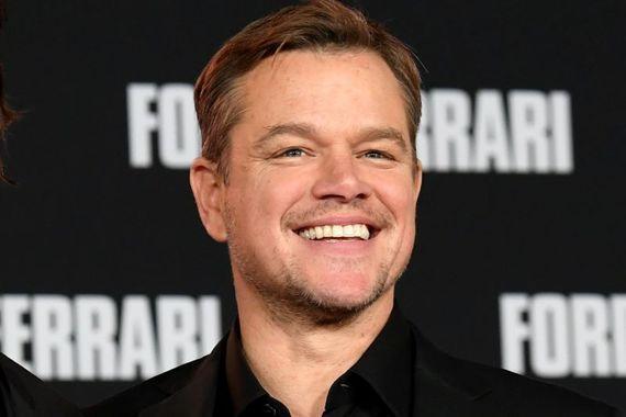 "Matt Damon has returned to Ireland to film \""The Last Duel.\"""