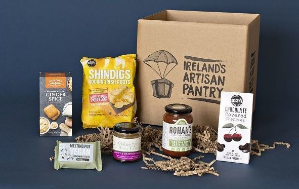 """This month\'s Ireland\'s Artisan Pantry box, offering food from Ireland\'s \""""Culinary Capital\"""" of County Cork."""