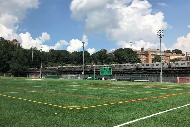Gaelic Park, the home of the GAA in New York.