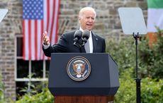 Joe Biden gets a clever shout out on Irish cousin's work van