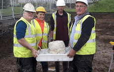 Archaeologists find Bronze Age urn on new hospital site in Donegal