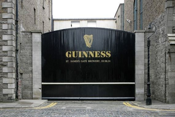 The Guinness Brewery in Dublin spans over 50 acres.