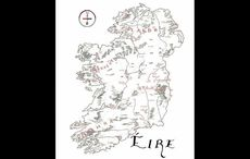 Artist creates beautiful Irish language map of Ireland inspired by Lord of the Rings