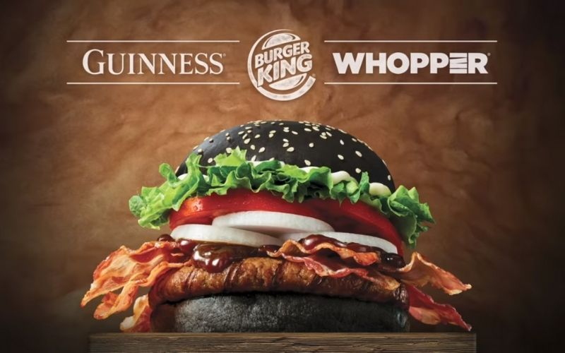 Guinness Whopper Released By Burger King In South Korea