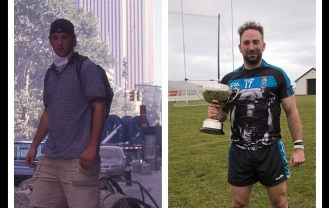 Then and now - John Ziomek tells the Hut in the Bog podcast about his journey from 9/11 to Gaelic football.