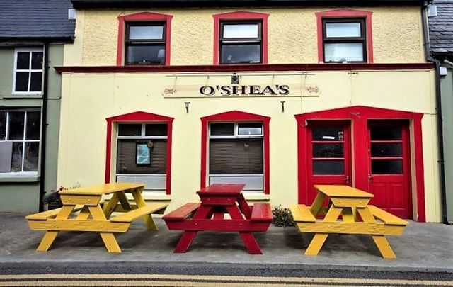 O\'Shea\'s, a small pub in the rural area of Eyeries on the Beara Peninsula, in West Cork, which has remained closed throughout the pandemic.