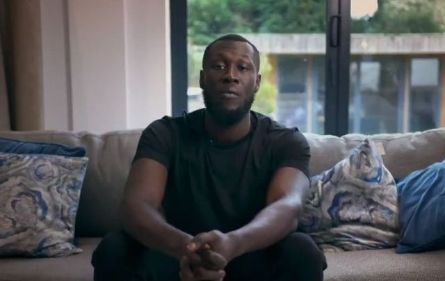 Stormzy sent the special message on Thursday morning.