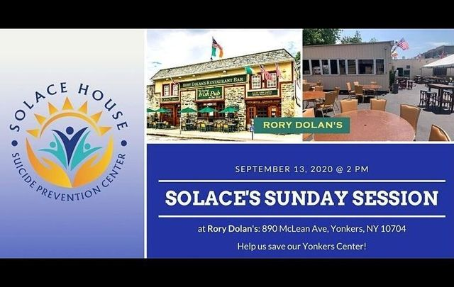 Solace House\'s \'Sunday Session\' will be held on September 13 in Yonkers, New York.