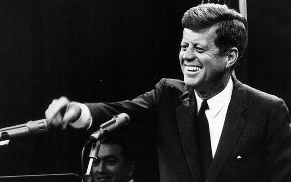 JFK was America\'s first Catholic president.