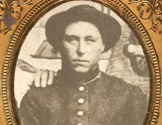 Albert Cashier / Jennie Hodgers who fought in American Civil War with the Union.